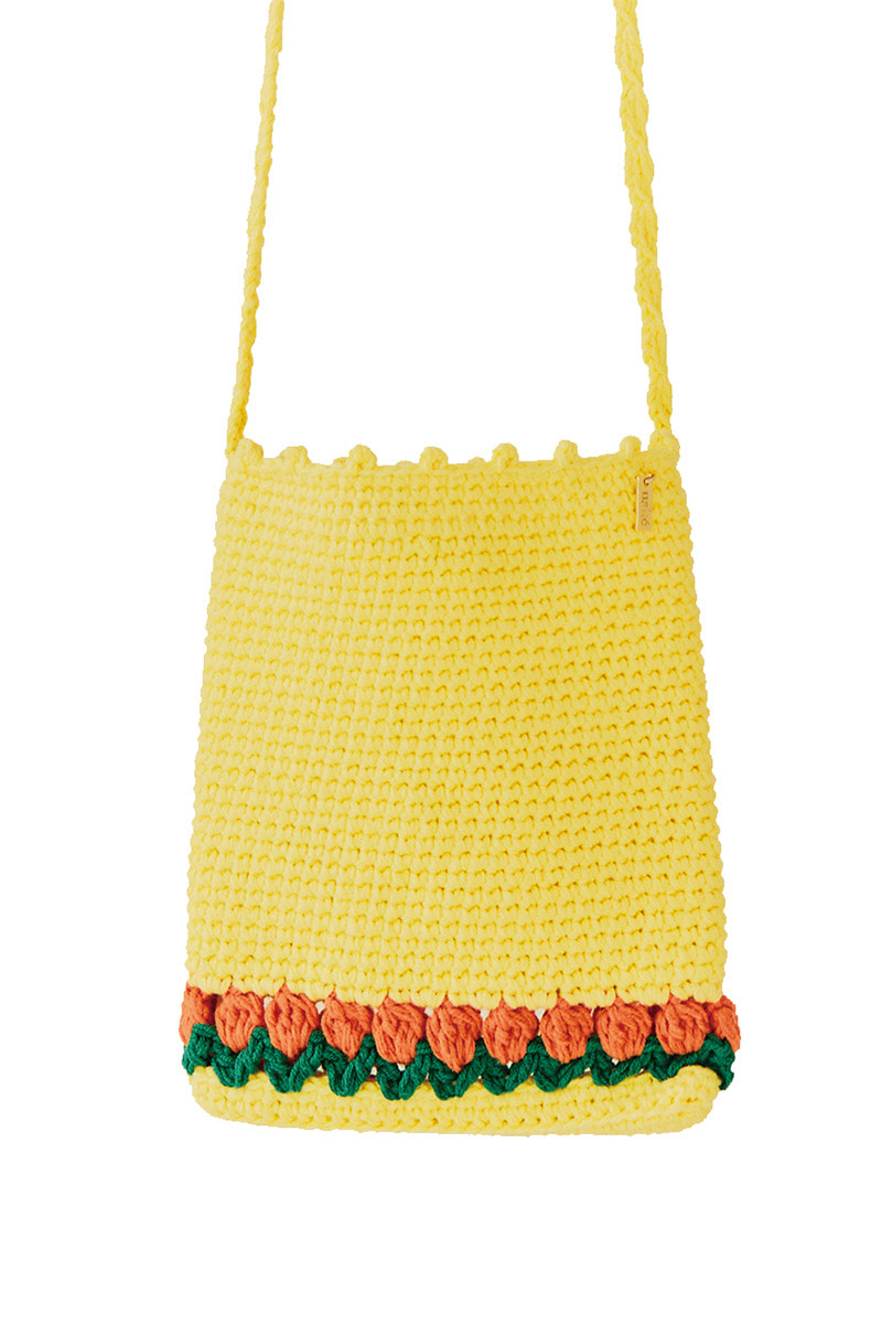 Handmade Tulip Kinting Bag (YELLOW)