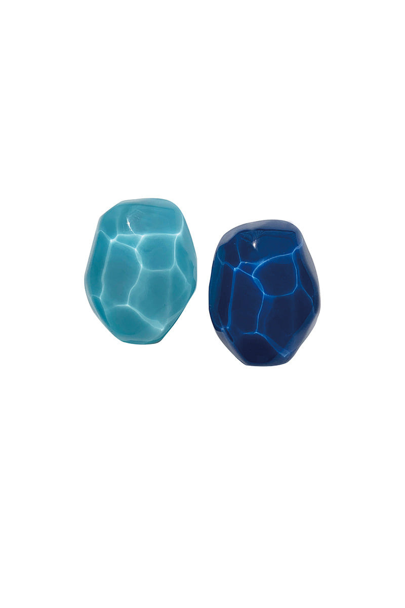 Wave Earring_BLUE