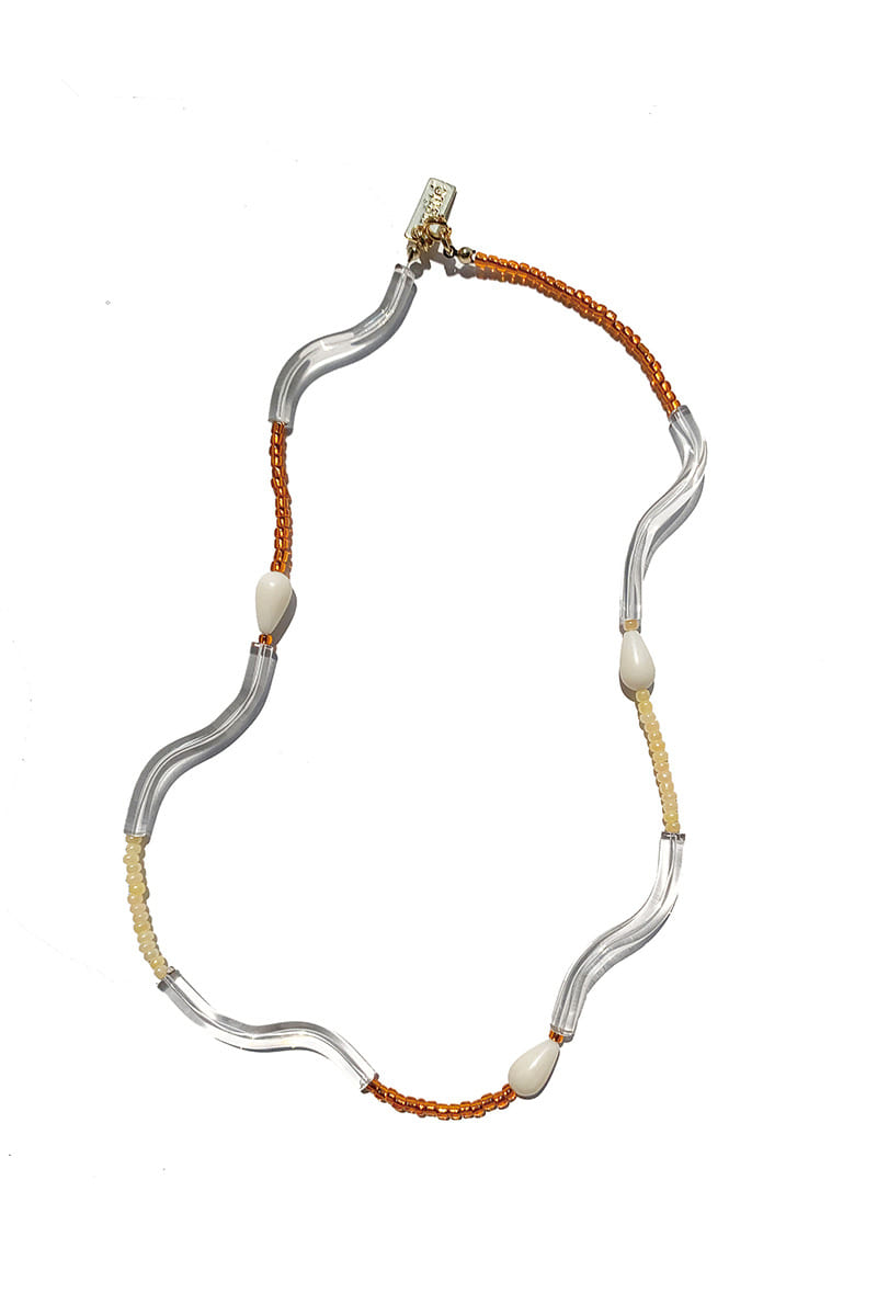 Shape of Orange Necklace