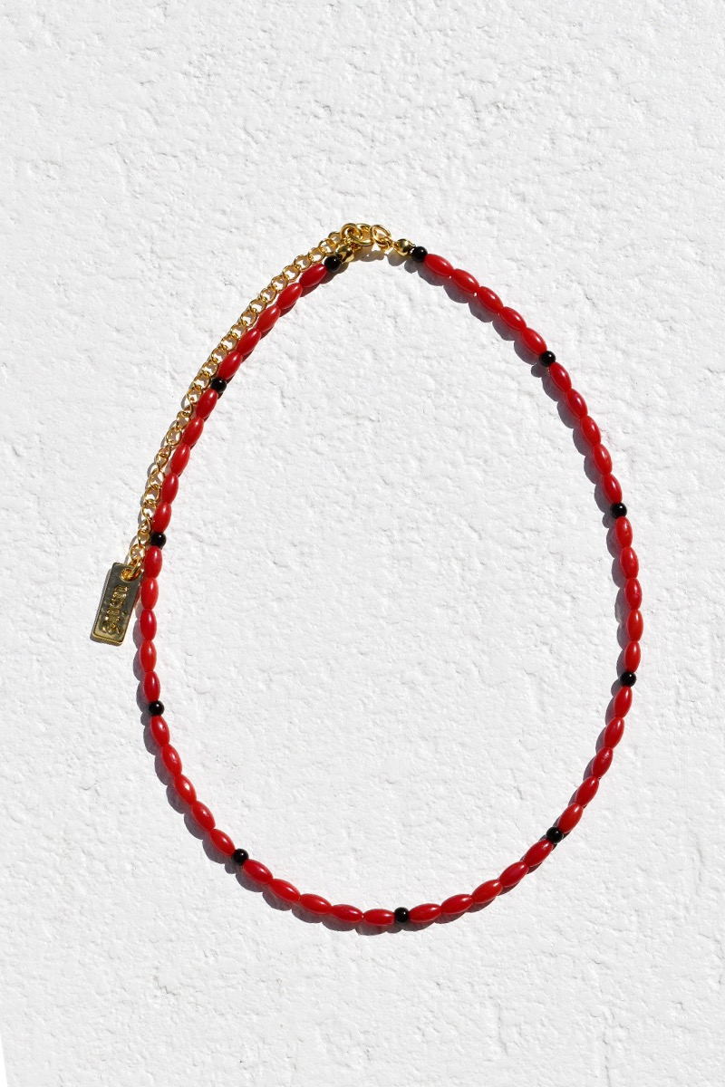 Coral Necklace (Red)